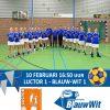 Kampioenswedstrijd Blauw-Wit 1
